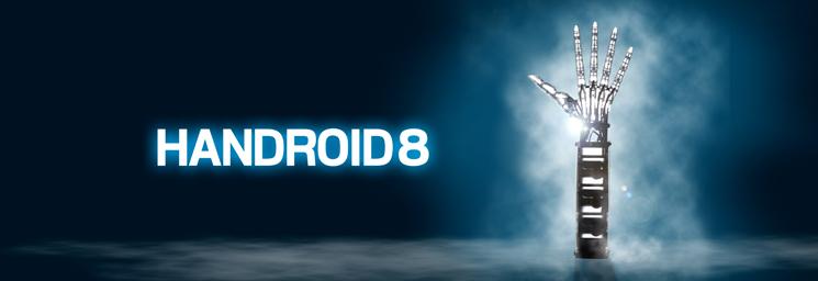 ハンドロイド8